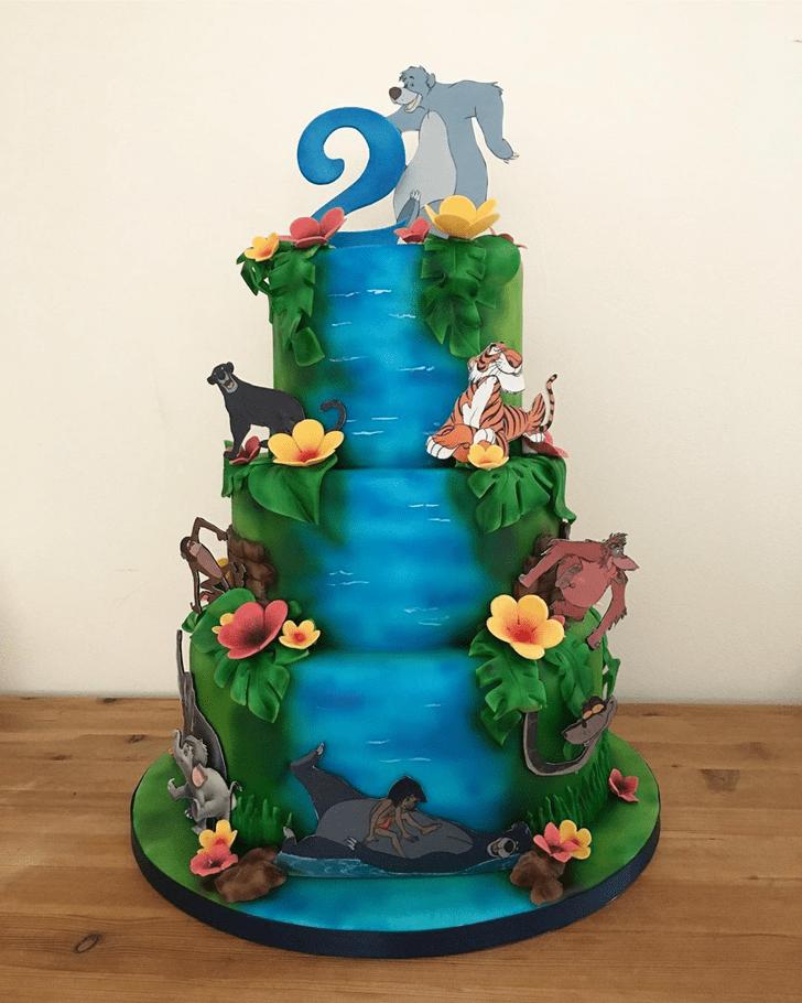 Grand Jungle Book Cake