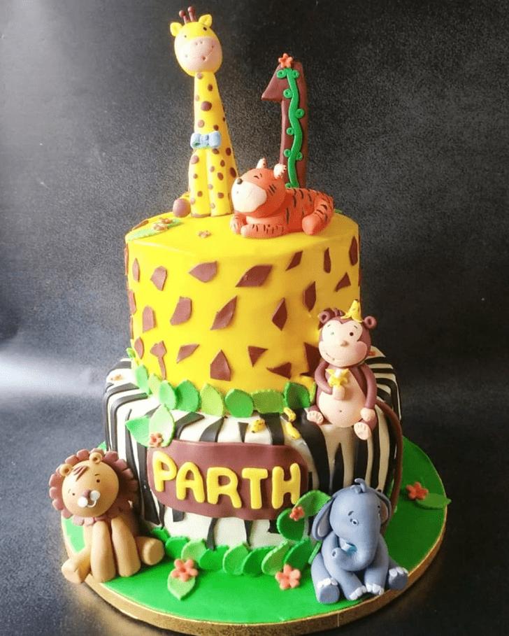 Handsome Jungle Book Cake