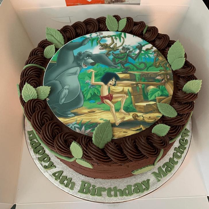 Magnificent Jungle Book Cake