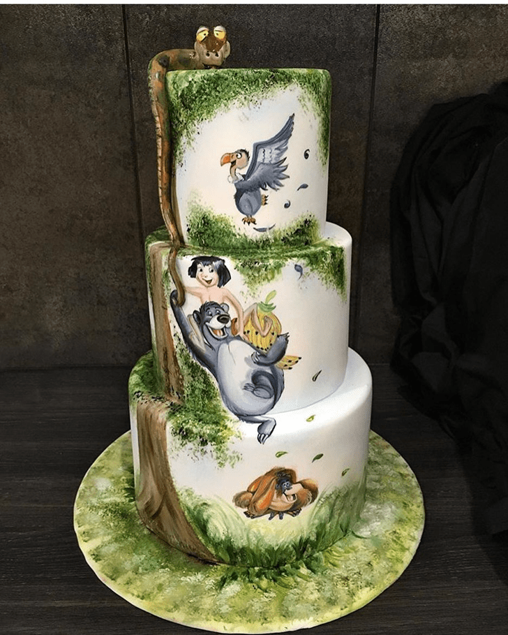 Mesmeric Jungle Book Cake