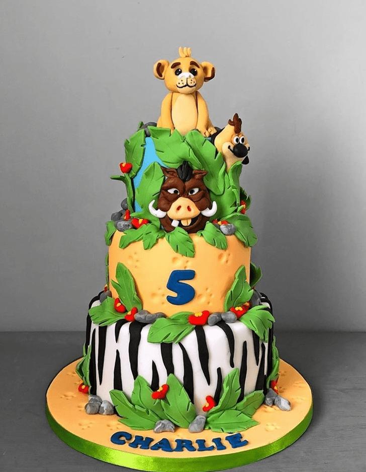 Nice Jungle Book Cake