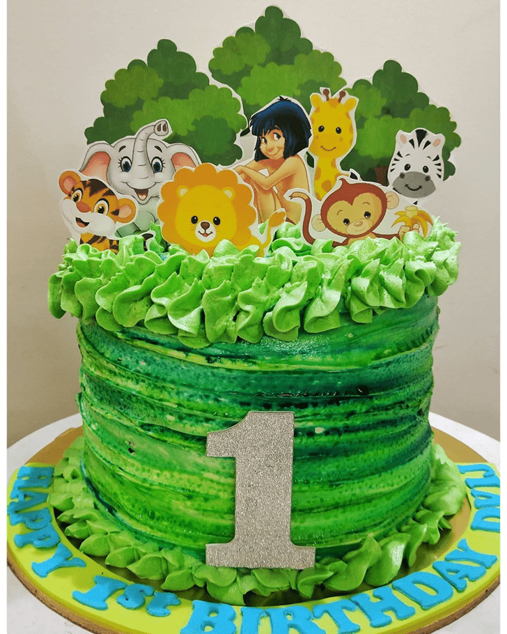 Ravishing Jungle Book Cake
