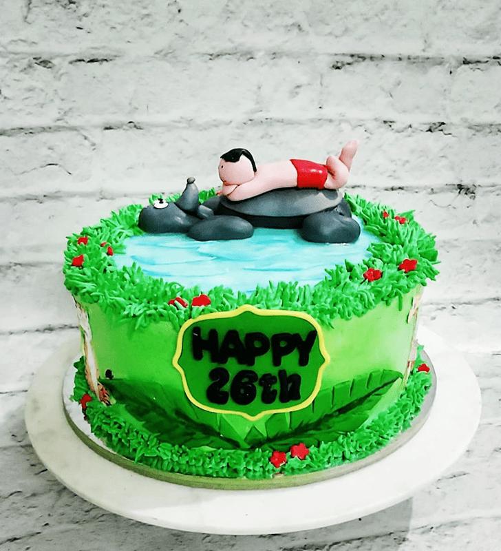Shapely Jungle Book Cake