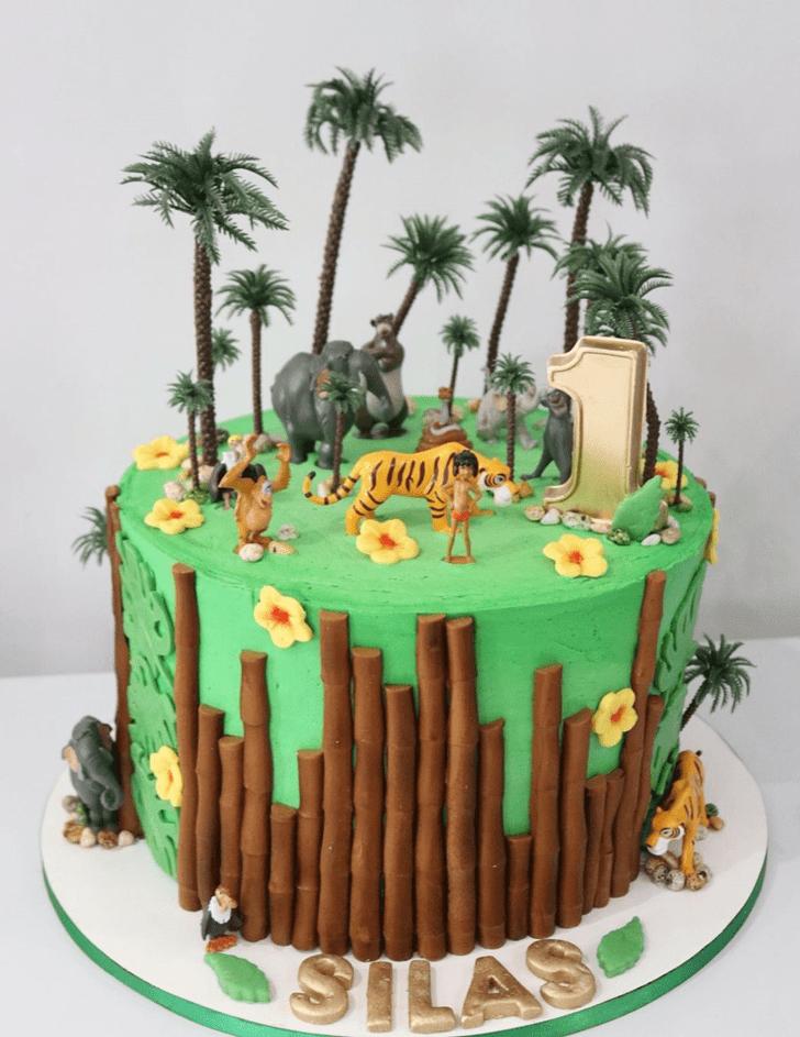 Superb Jungle Book Cake