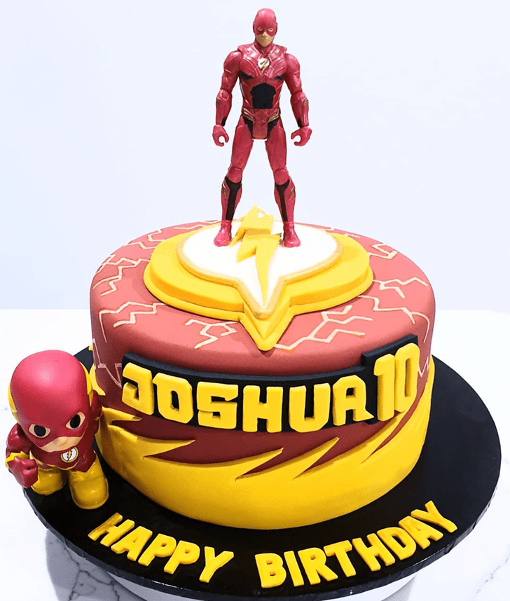 Beauteous Justice League Cake