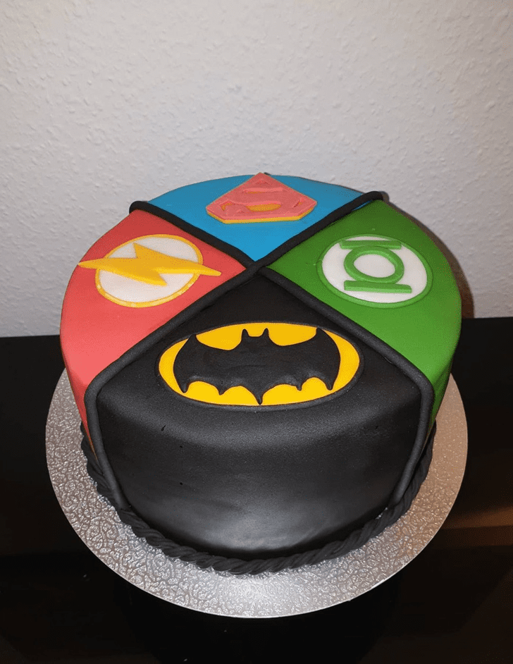 Bewitching Justice League Cake