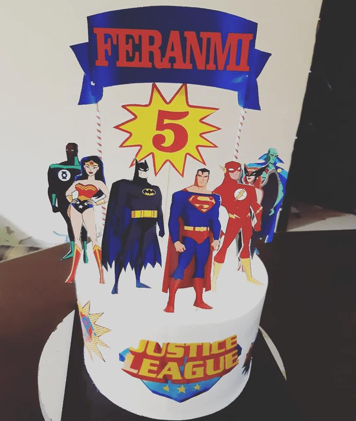 Excellent Justice League Cake