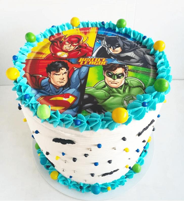 Fair Justice League Cake