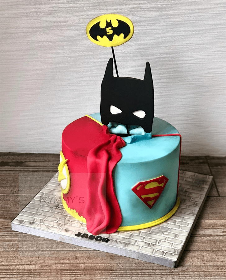 Good Looking Justice League Cake