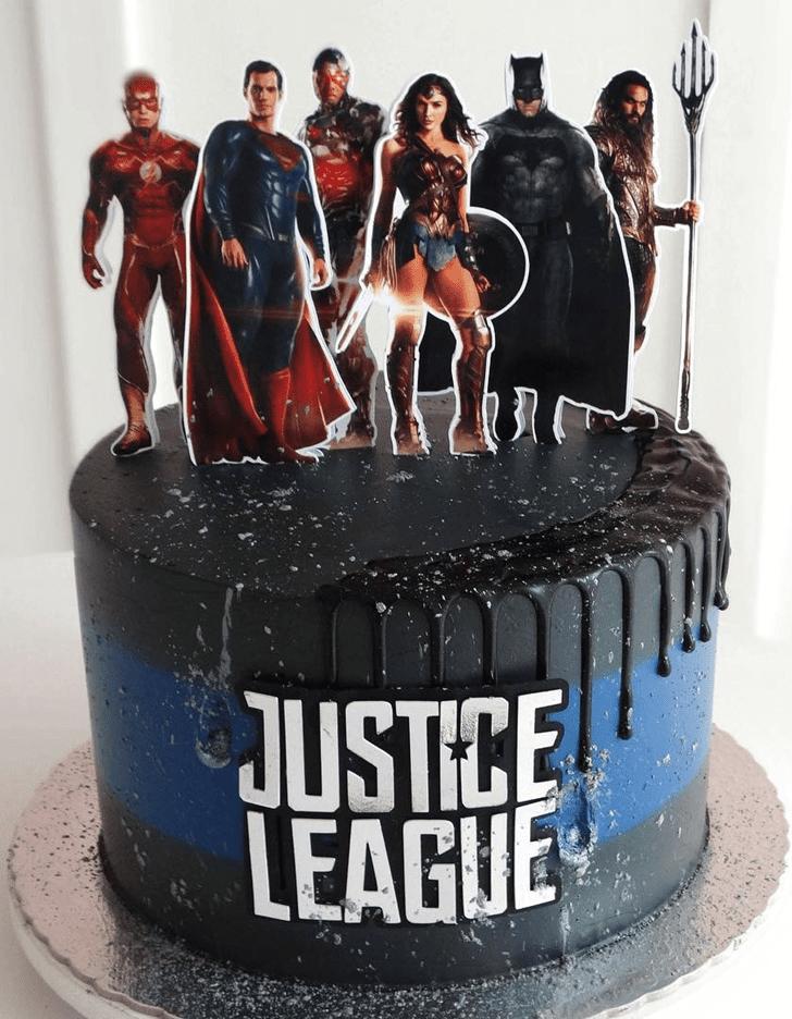 Grand Justice League Cake