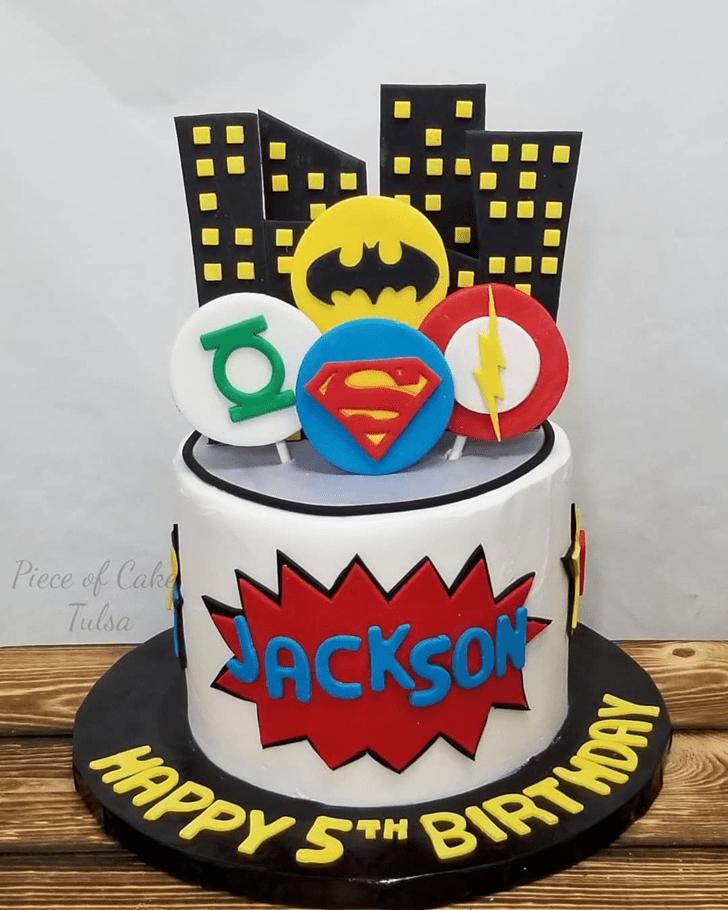 Magnificent Justice League Cake
