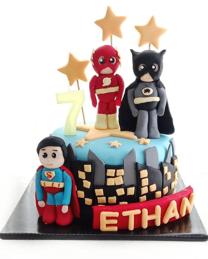 Ravishing Justice League Cake