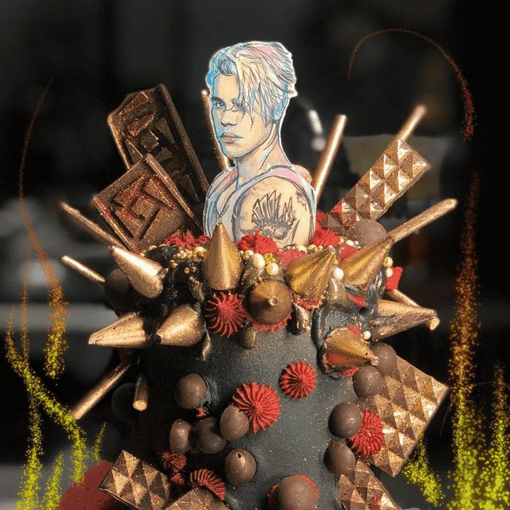Admirable Justin Bieber Cake Design