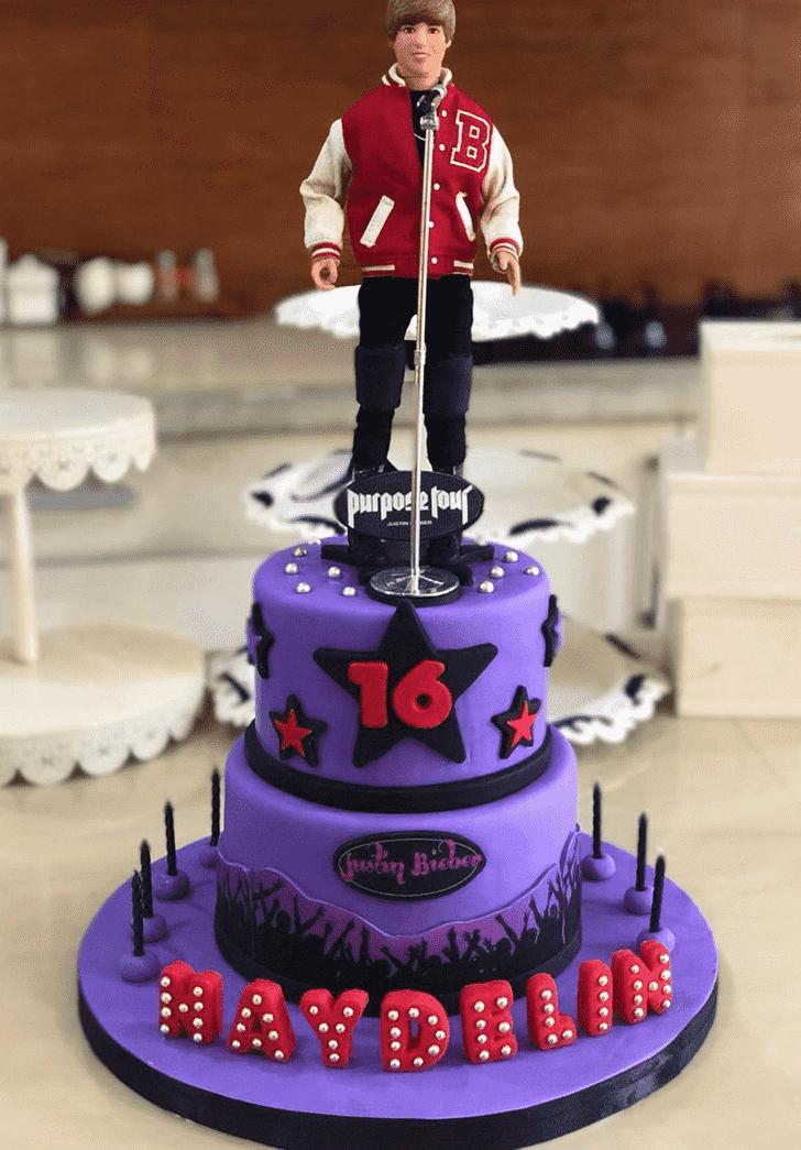 Captivating Justin Bieber Cake