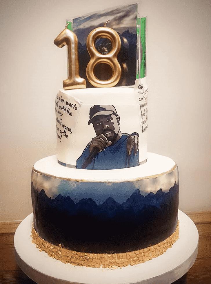 Adorable Kanye West Cake