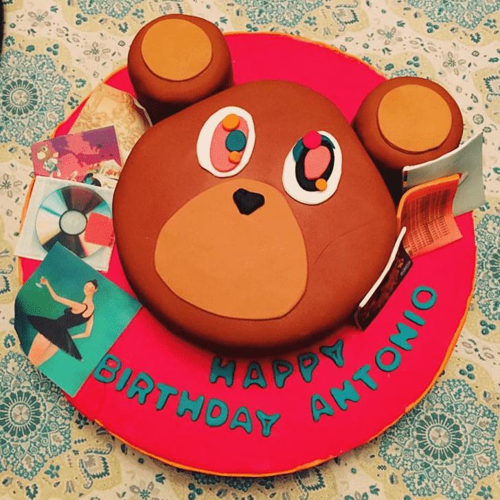 Appealing Kanye West Cake