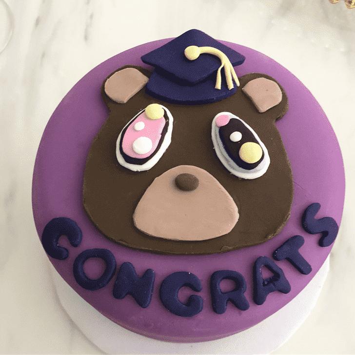 Classy Kanye West Cake
