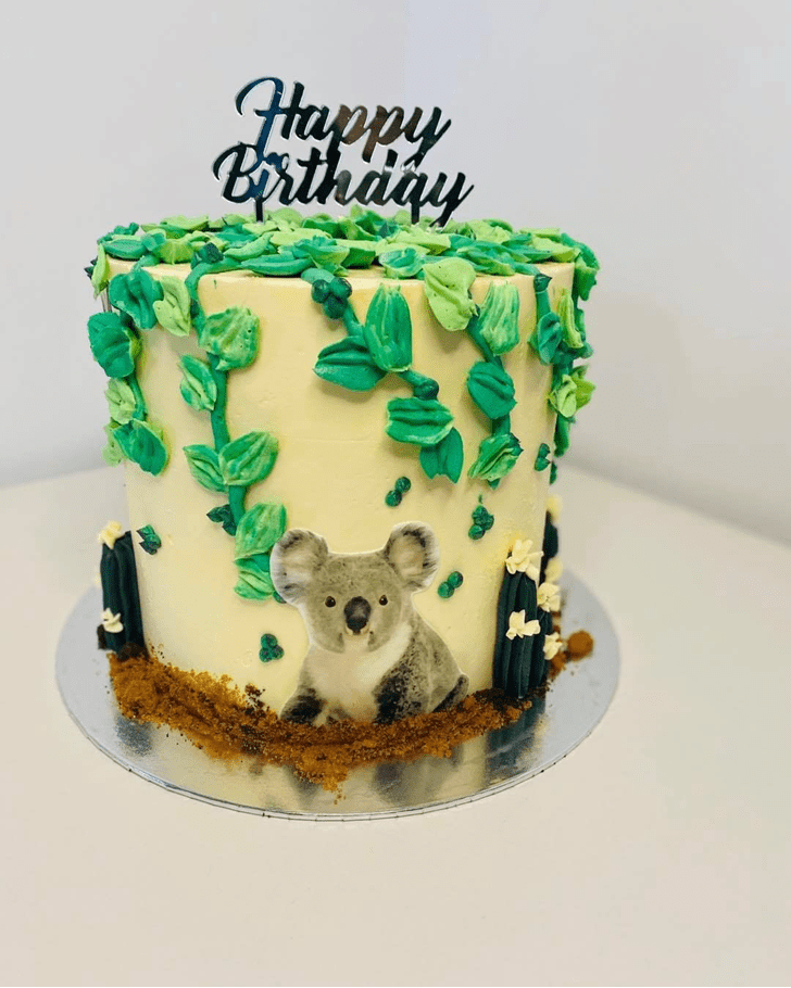 Captivating Koala Cake