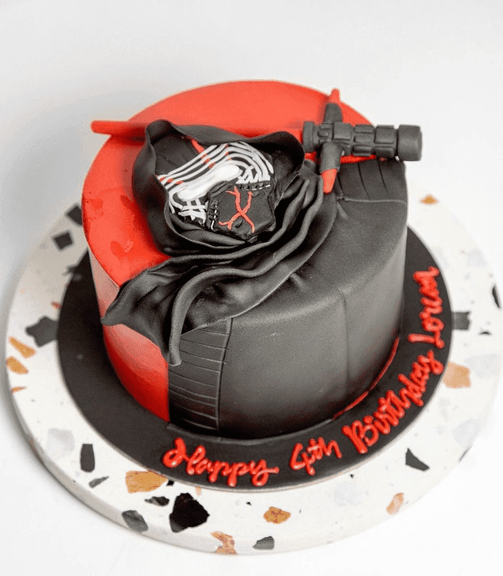 Adorable Kylo Ren Cake