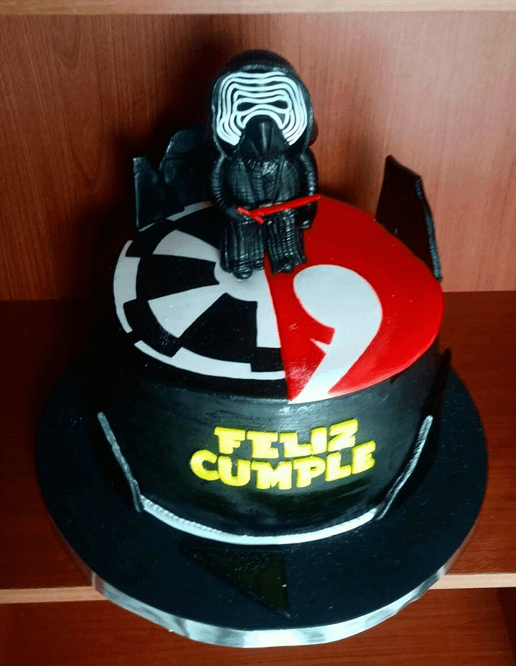 Captivating Kylo Ren Cake