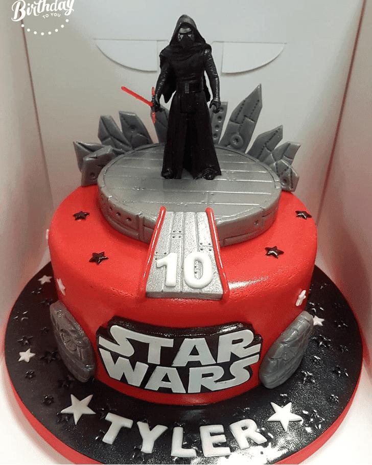 Divine Kylo Ren Cake