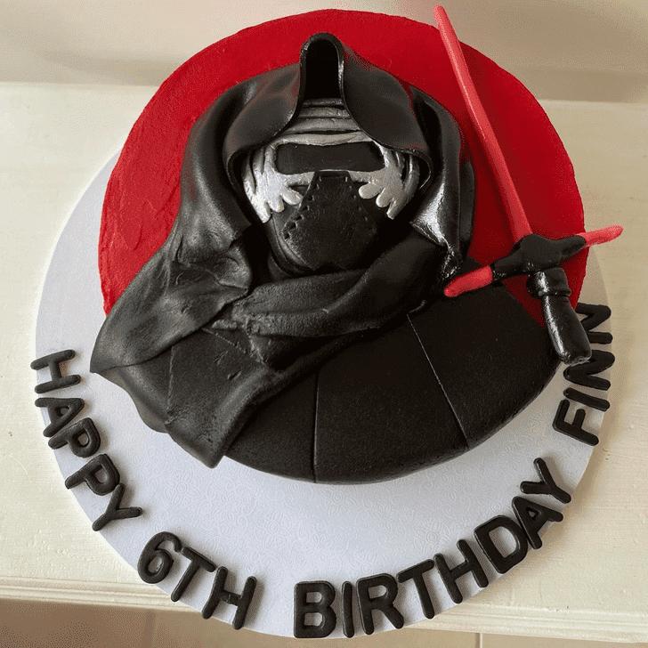 Exquisite Kylo Ren Cake