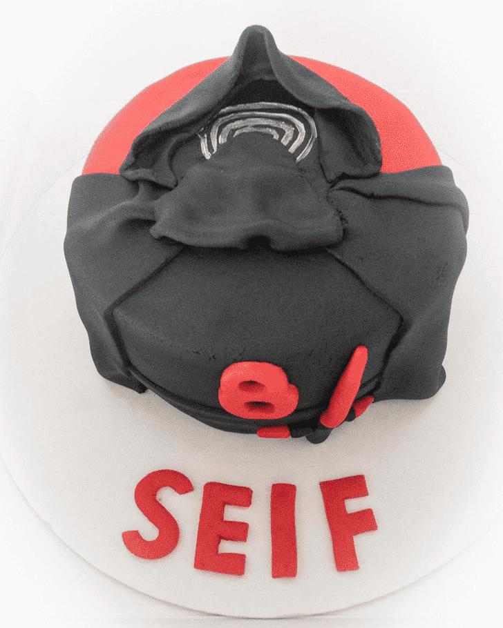 Fascinating Kylo Ren Cake