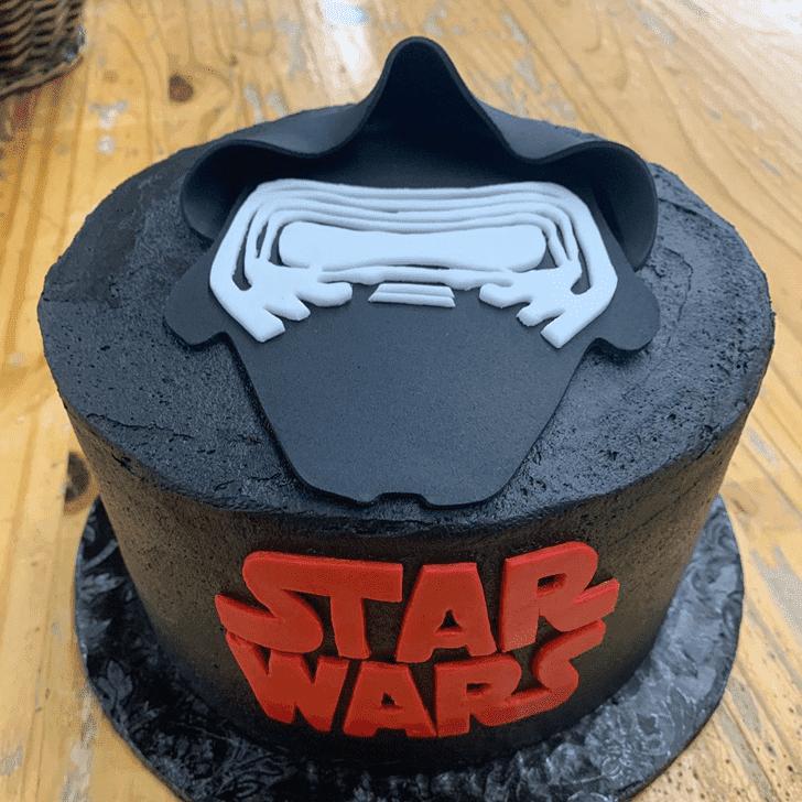 Gorgeous Kylo Ren Cake