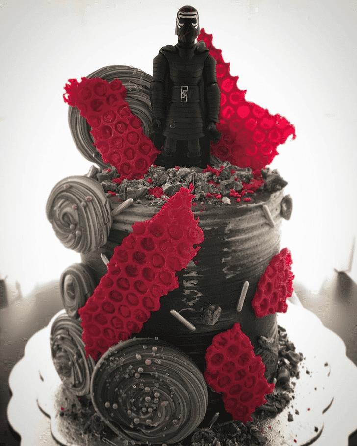 Pleasing Kylo Ren Cake