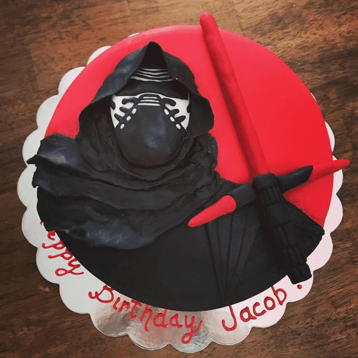 Superb Kylo Ren Cake