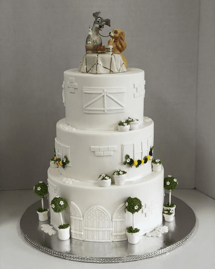 Classy Lady and the Tramp Cake