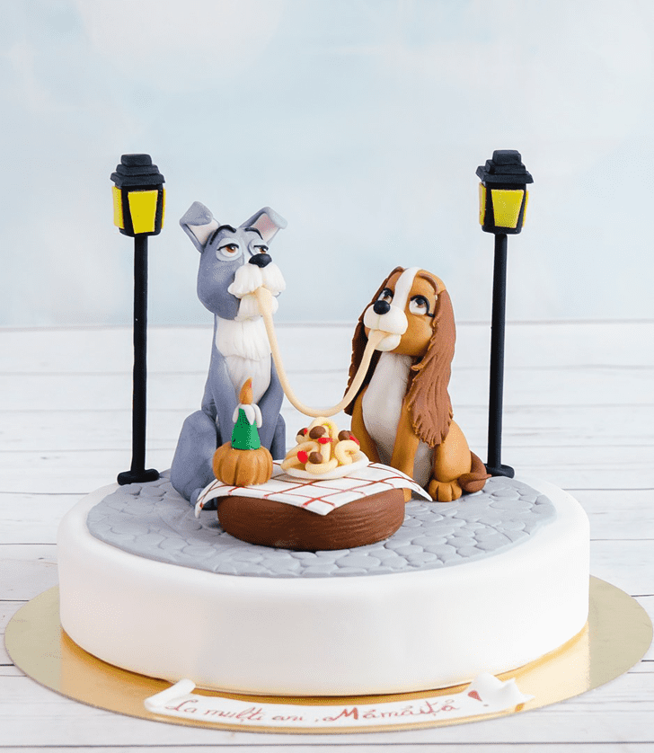 Delicate Lady and the Tramp Cake