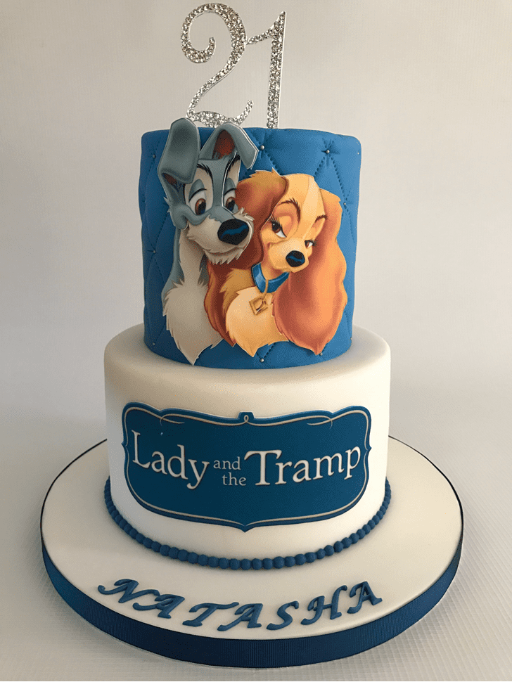 Excellent Lady and the Tramp Cake
