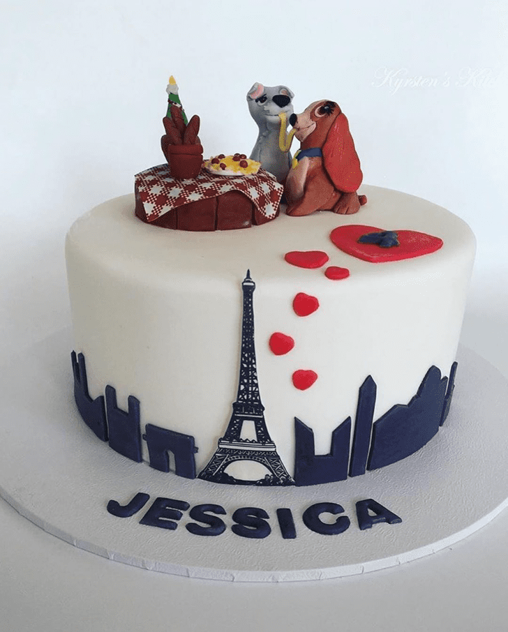Exquisite Lady and the Tramp Cake