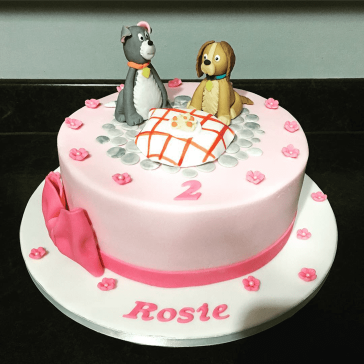 Gorgeous Lady and the Tramp Cake
