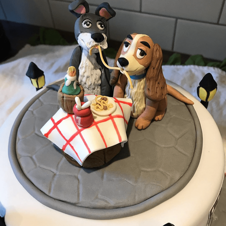 Ideal Lady and the Tramp Cake