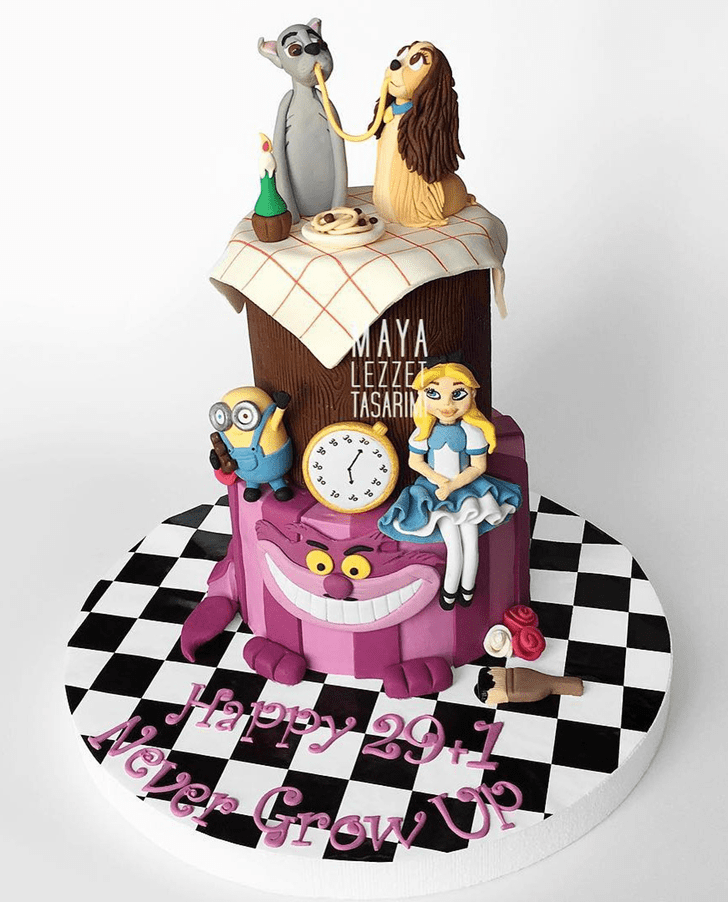Magnetic Lady and the Tramp Cake