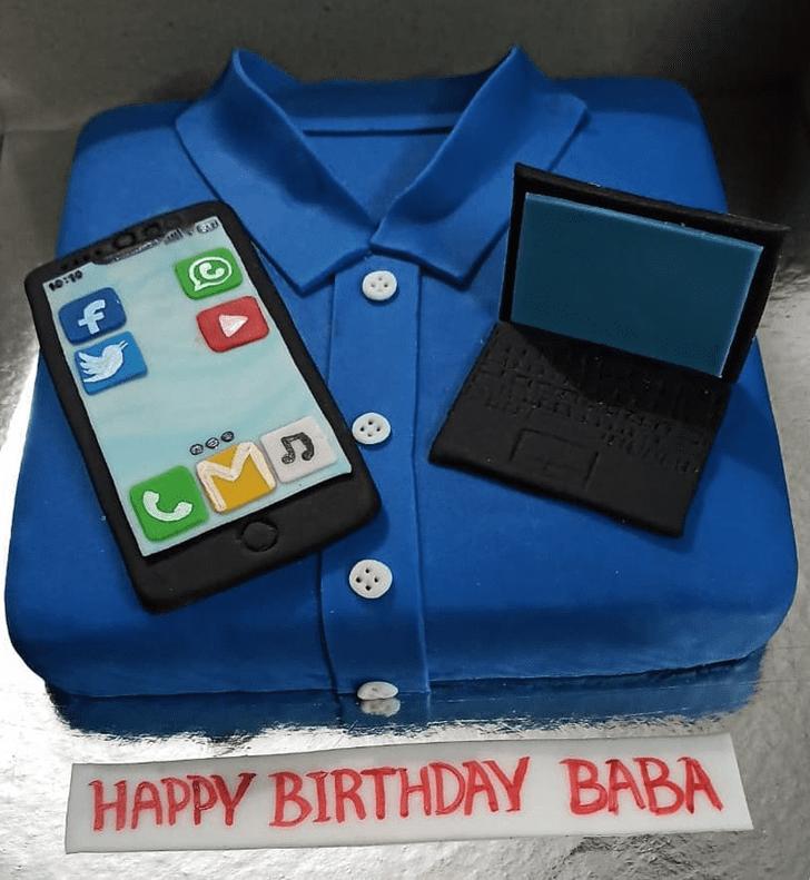 Admirable Laptop Cake Design