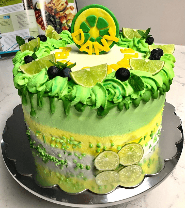 Adorable Lemon Cake