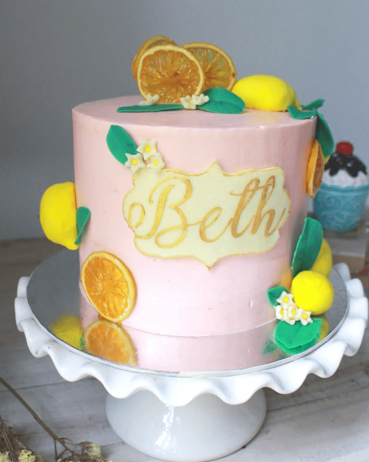 Charming Lemon Cake