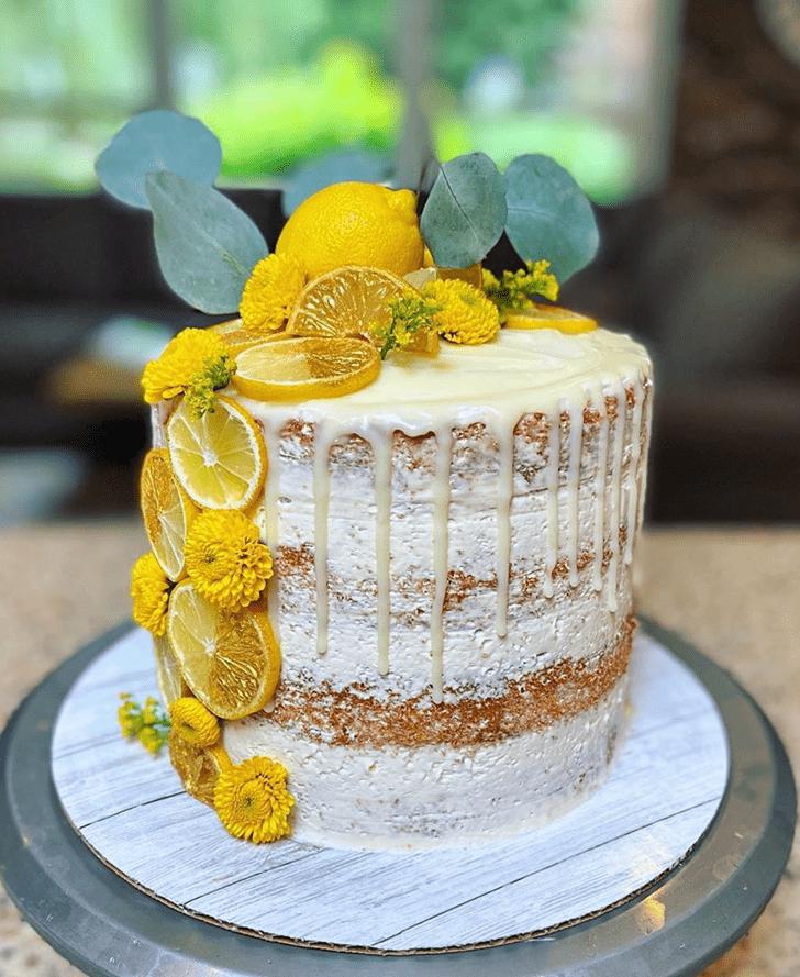 Lovely Lemon Cake Design