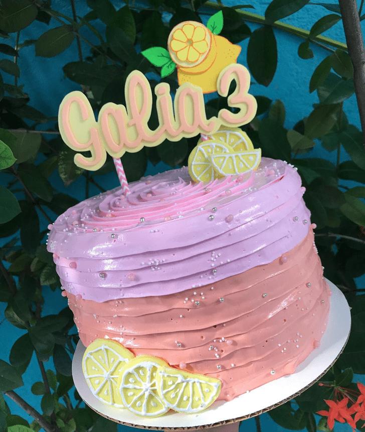 Pleasing Lemon Cake