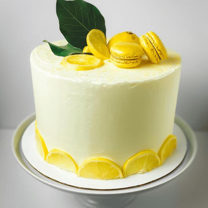 Resplendent Lemon Cake