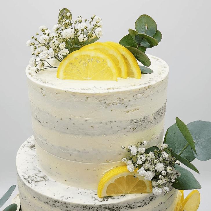 Slightly Lemon Cake