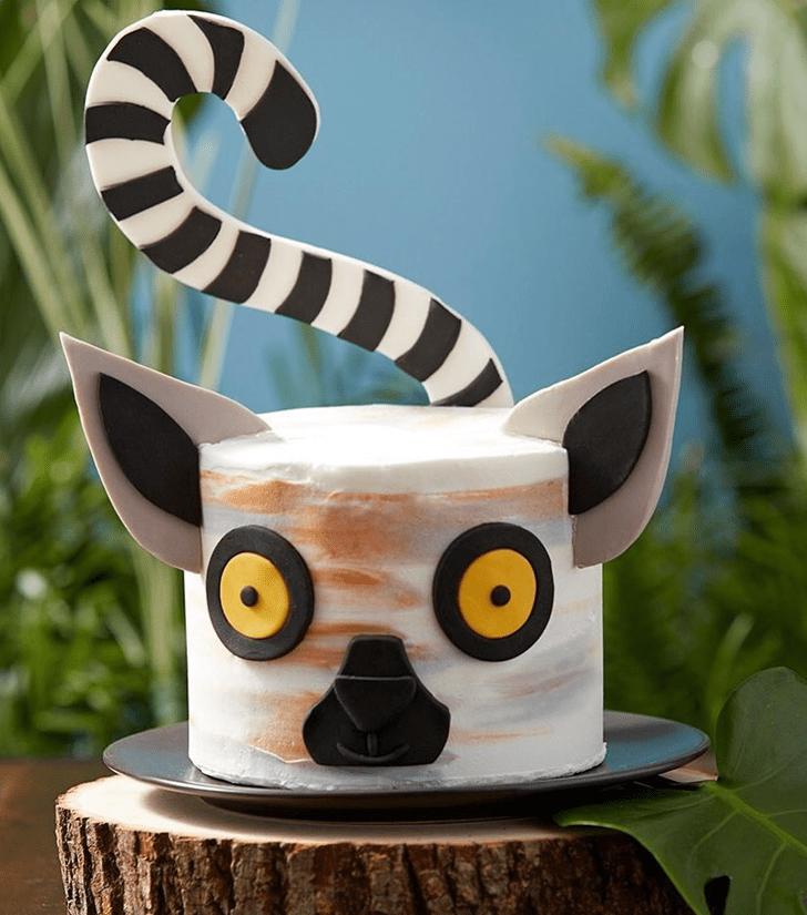 Bewitching Lemur Cake
