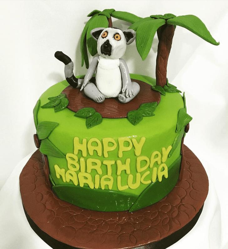 Charming Lemur Cake