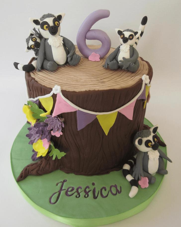 Classy Lemur Cake