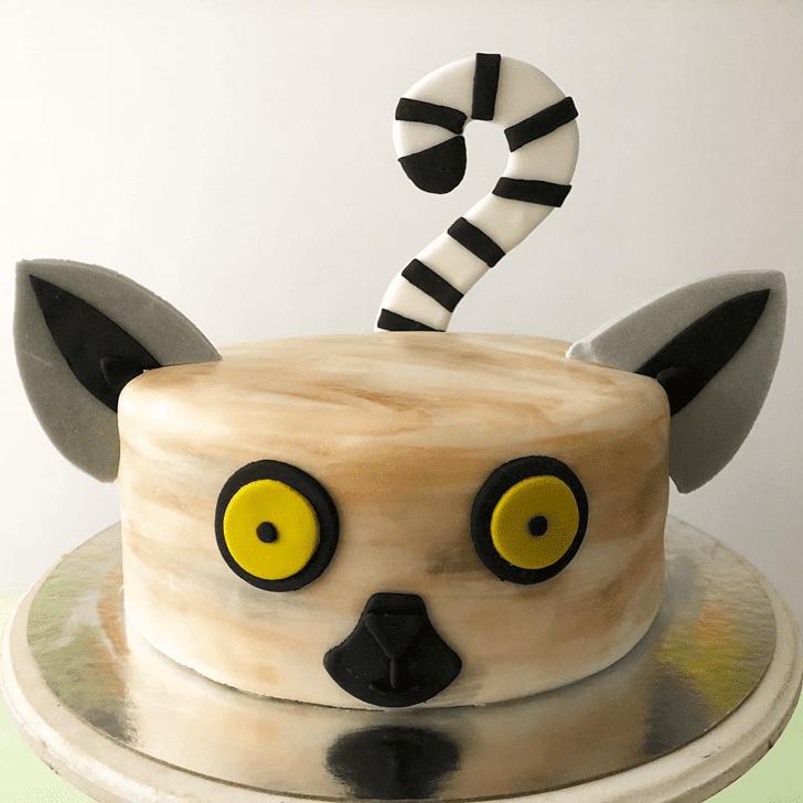 Divine Lemur Cake