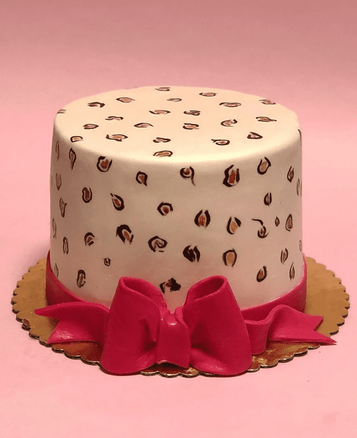 Bewitching Leopard Cake