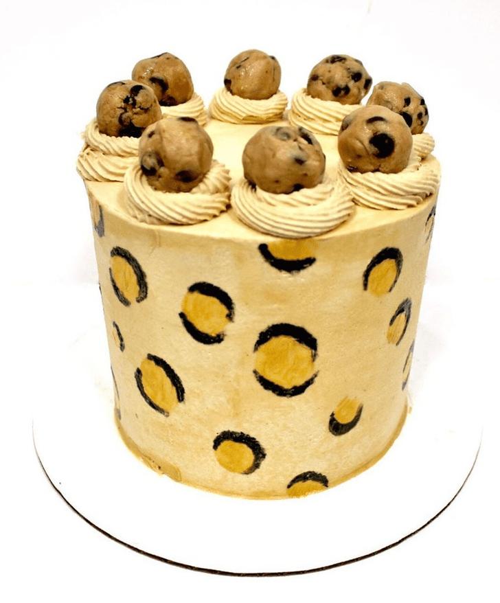 Classy Leopard Cake